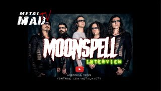 MOONSPELL | INTERVIEW A L'ÉTAGE RENNES