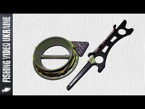 Рыболовная резинка со съемным фрагментом под крючки. Изготовление и теория. (Часть 1) HD