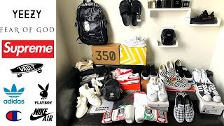 Haul p hp Fear of God, Yeezys, Air Max, Supreme and many more pickups for Fall Winter
