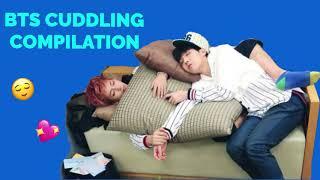 BTS CUDDLING COMPILATION