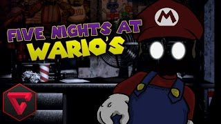FIVE NIGHTS AT WARIO'S: UN MARIO TERRORÍFICO - LIVE #TerrorConTown