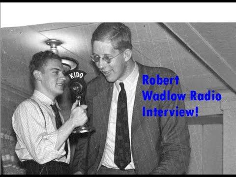 Robert Wadlow 1937 New York Radio Interview! *Super Rare*