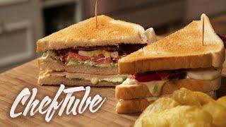 How to Make a New York Club Sandwich - Recipe in description