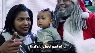 "Meet the African-American Santa who's a ""Claus with a Cause"""