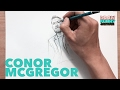 HOW TO DRAW CONOR MCGREGOR