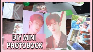 HOW TO MAKE A MINI DIY KPOP PHOTOBOOK (CHEAPEST Do It Yourself)