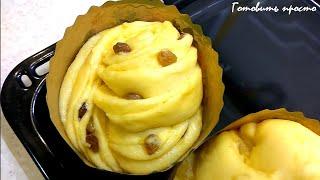КРАФФИН -  пасхальный кулич- Паска - Пасха  Easter Cake Cruffin -   по рецепту Ludaeasycook