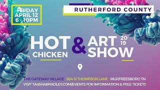 Rutherford County Hot Chicken & Art Show 2019 by Brunch Money
