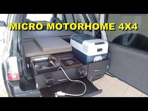 4x4 Micro Camper Car