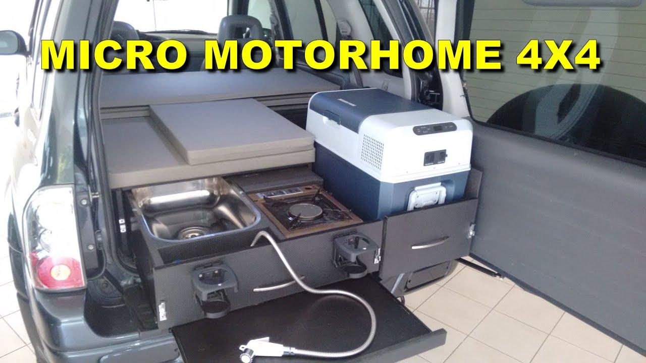 4x4 Micro Camper Car Youtube