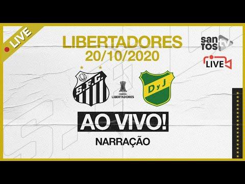 🔴 AO VIVO: SANTOS  2 x 1  DEFENSA Y JUSTICIA | CONMEBOL LIBERTADORES (20/10/20)