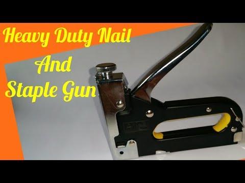Heavy Duty Nail & Staple Gun