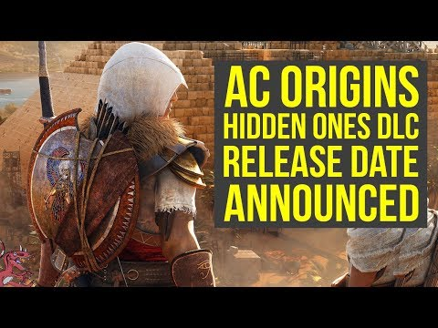 Assassin's Creed Origins DLC Release Date REVEALED + New Info (AC Origins The Hidden Ones)