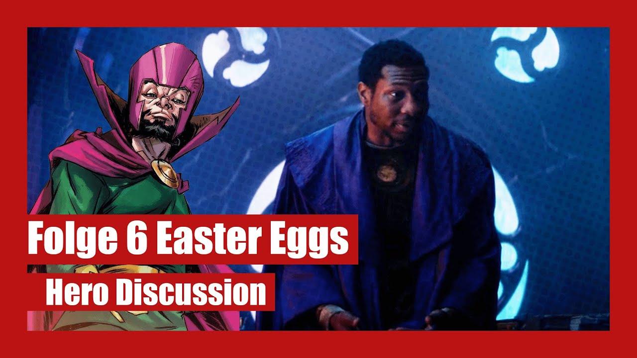 Loki Folge 6 Comic Easter Eggs & MCU Referenzen