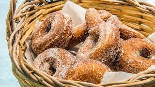 Ricetta zeppole fritte - Chef Peppe Guida - Nonna Rosa