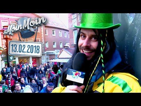 Fasching in Münster! Unterwegs auf dem Karnevals-Wagen | MoinMoin mit Andy
