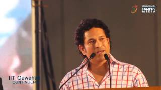 Sachin Tendulkar Motivational Video Opening Ceremony of the Golden Jubilee Edition of Inter IIT Spor