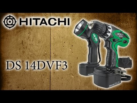 Аккумуляторный шуруповерт HITACHI DS 14DVF3