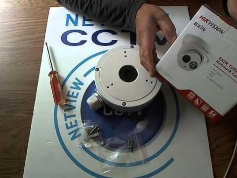 Hikvision DS-1280ZJ-M Junction Box / Back Box for Turret Dome Cameras DS-2CD2342-I