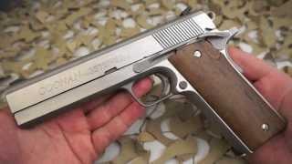 Coonan 357 Magnum 38 Special Semi Automatic 1911 Pistol Overview - Texas Gun Blog