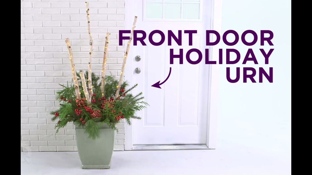 Holiday quick take diy front door holiday urn youtube holiday quick take diy front door holiday urn rubansaba
