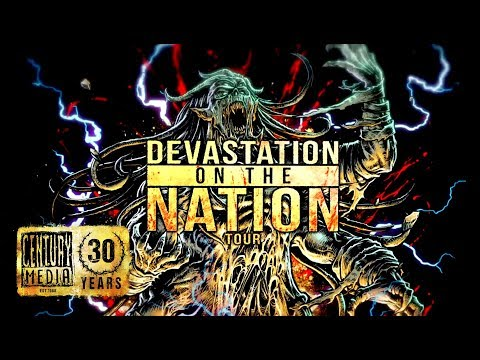 Devastation On The Nation Tour feat ABORTED, PSYCROPTIC, INGESTED & more