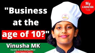 Age is just a number when it comes to DREAMING || Vinusha MK || 10 Years Old || My Canvas Talk