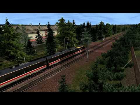 Railworks - Class 390 Pendolino on the West Coast Main Line North