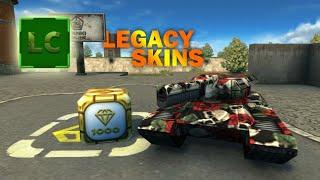 Tanki Online Legacy Skins! Легаси Скины LEGACY Танки Онлайн