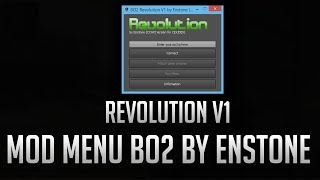 ► HACK BO2 : Mod Menu Revolution V1 By Enstone ( DEX & CEX ) !