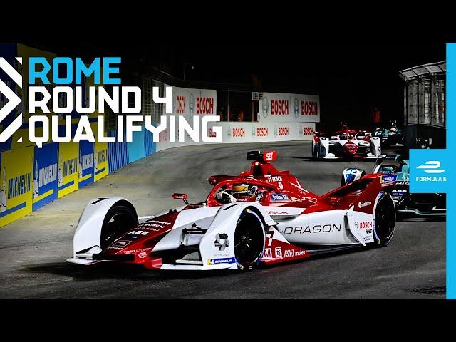 2021 Rome E-Prix - Race 4 | Qualifying
