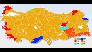 Yerel seçim sonuçları ( canlı yayın )