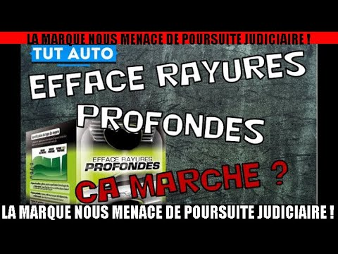 efface rayure profondes gs27 on test pour vous youtube. Black Bedroom Furniture Sets. Home Design Ideas