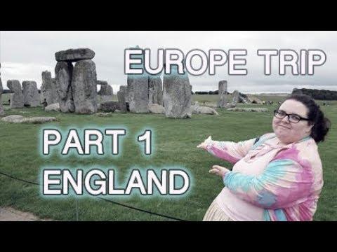 GRAND EUROPE ADVENTURE PART 1-ENGLAND! (Disney, Harry Potter Studios, Puzzlewood)