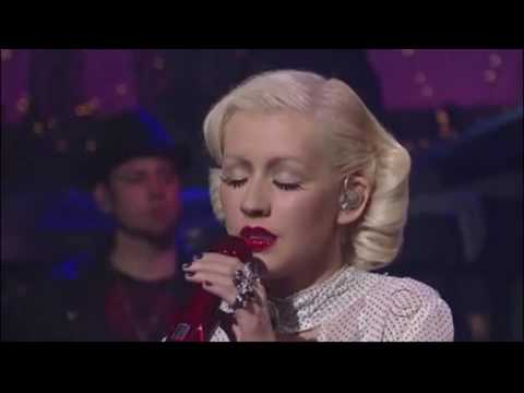 Christina Aguilera live (you lost me) plus lyrics...  bionic. HD