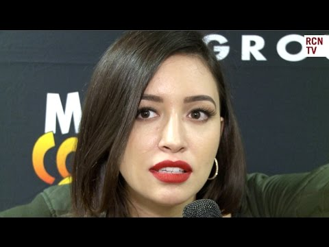 The Walking Dead Christian Serratos Interview