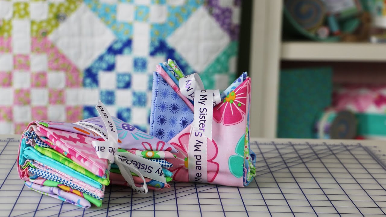 How to fold fat quarters for sewing gifts and sewing studio how to fold fat quarters for sewing gifts and sewing studio decoration by me my sister designs negle Gallery