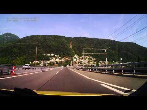 Switzerland. Motorway A2, 233-288 km. 2014-06, 1x