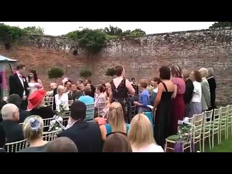 Wedding Surprise Song All You Need Is Love Ispired By Actually