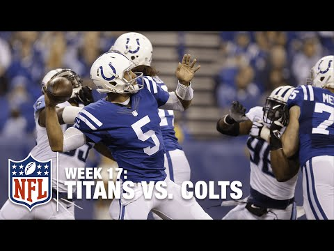 Colts QB Josh Freeman to Coby Fleener for Huge 57-Yard TD! | Titans vs. Colts | NFL