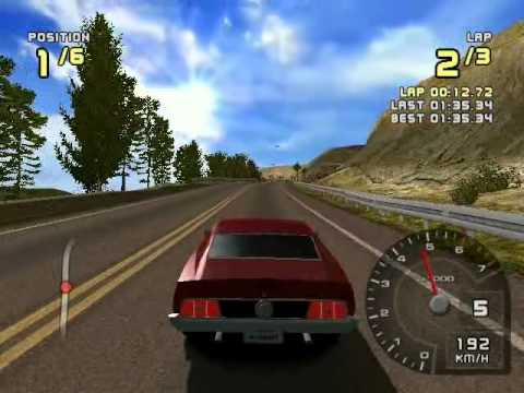 ford racing 2 for pc with my car : ford mustang 71' mach 1