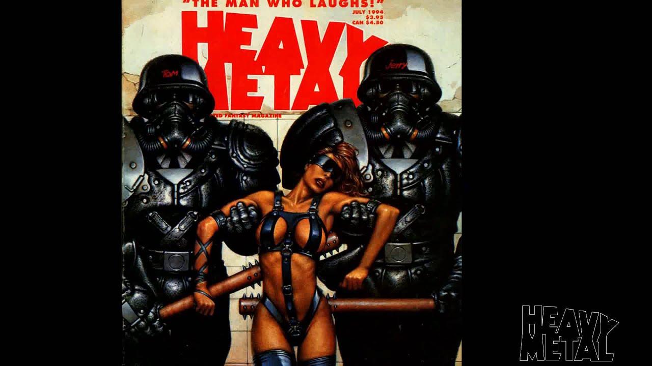 Heavy Metal Magazine Covers Gallery