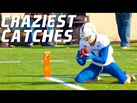 College Football Craziest Catches 2019-20 ᴴᴰ