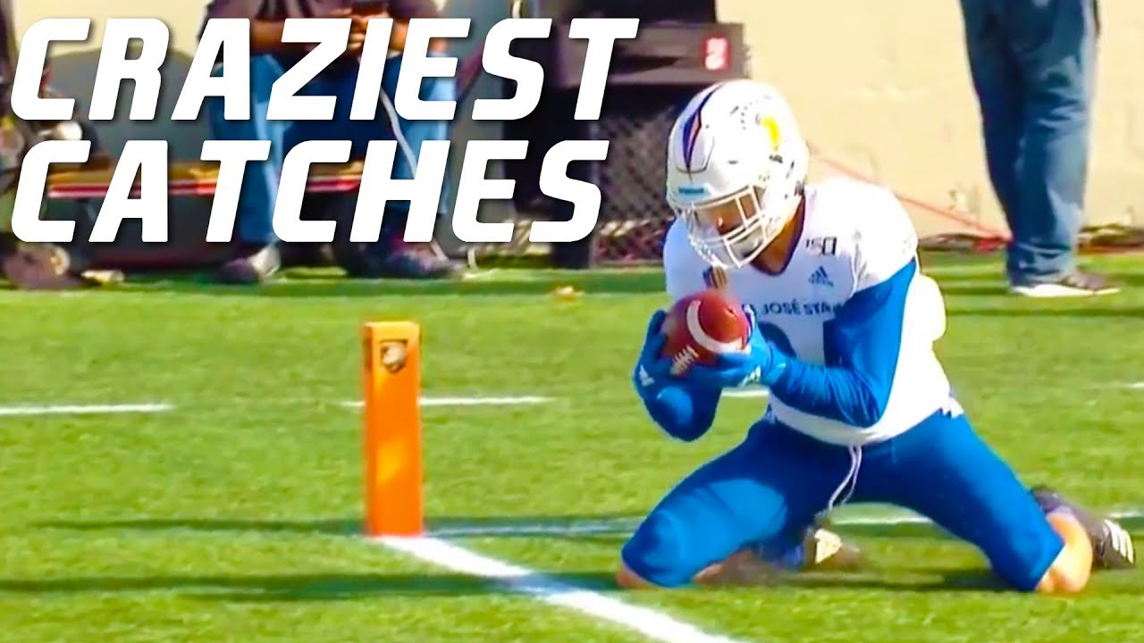 Download College Football Craziest Catches 2019-20 ᴴᴰ