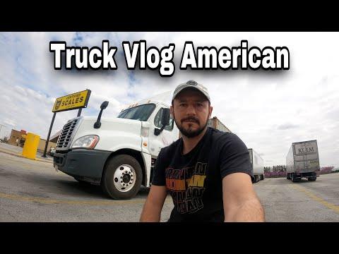 Truck Vlog American - Curse prin Illinois