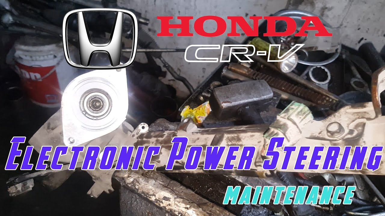 Electronic Power Steering Rack Fix Honda Crv Re1 Civic Accord Jazz City Youtube