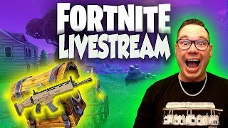 STREAMING UNTIL WE GET A DUOS WIN! FORTNITE BATTLE ROYALE LIVESTREAM WITH TDBARRETT (PS4 PRO)