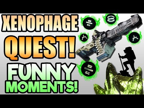 XENOPHAGE QUEST FUNNY MOMENTS! Highlights and Funny Moments!   Destiny 2 Season of Undying Gameplay