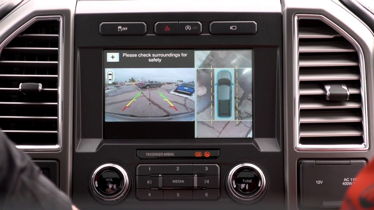 Quickview of the 2017 FORD F150 360 Degree Camera - YouTube