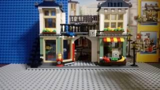 Обзор лего набора Магазин по продаже игрушек и продуктов 31036